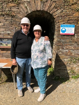 Heading into the Mine at Laxey