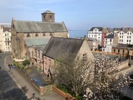 Looking towards Douglas from Manx Museum