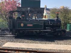 Our steam loco - Port Erin to Douglas