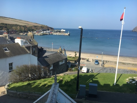 Port Erin from our room