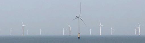 Wind Farms in the Irish Sea