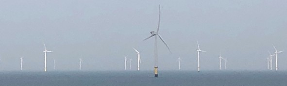 Wind Farms in the Irish Sea